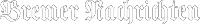 Logo Bremer Nachrichten